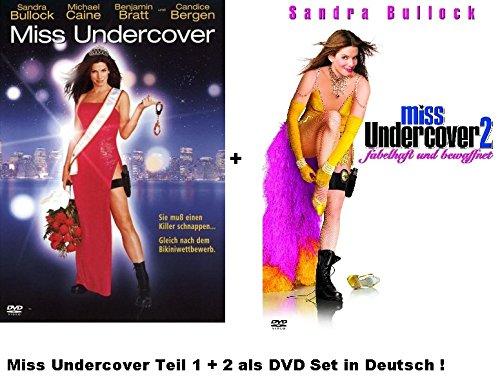 Miss Undercover 1+2 dvd Set, deutsch, 1 & 2, Sandra Bullock