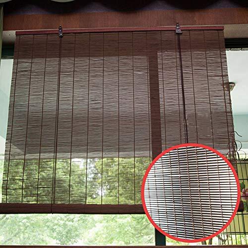 Bambusrollo Innen Außen Rollläden Rollo Mit Haken - Außen Rollo Für Pavillon Pergola Patio Veranda Carport, 85cm / 105cm / 125cm / 145cm Breit (Size : 145×160cm)
