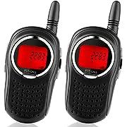 STOTOY Kids Walkie Talkies 22 Channel FRS VOX 2 Way 6KM Long Range Radio for Kids(1 Pair