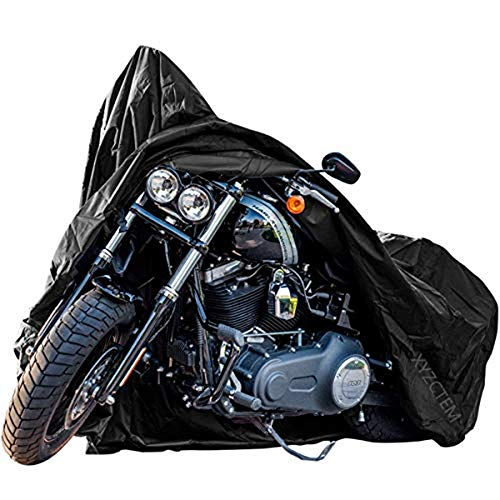 New Generation Motorcycle cover ! XYZCTEM All Weather Black...
