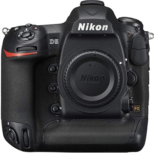 Nikon D5 20.8 MP Point & Shoot Digital Camera, Dual CF Slots - Black (Renewed)