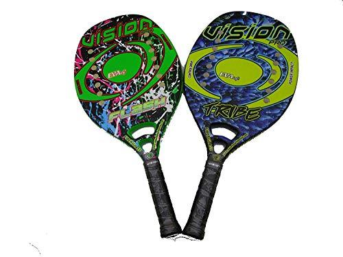 Coppia Racchette Beach Tennis Vision Flash e Tribe 2018