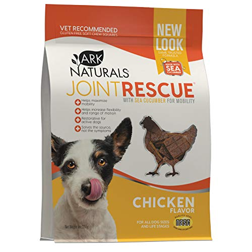 ARK Naturals 326053 Joint rescue Sea Mobility Chicken Jerky Strips for Pets  9-Ounce