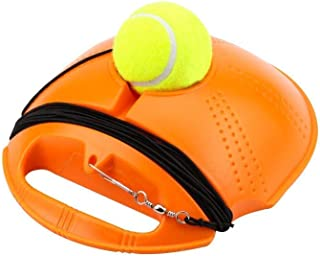 Chengstore Tennis Trainer Rebounder Ball- Trainer Cemented With Rope, Solo Tennis Trainer,Self-Study Rebound Power Base Re...