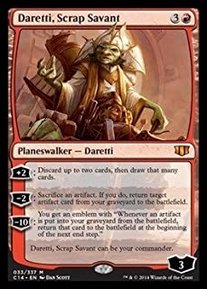 Magic: the Gathering - Daretti, Scrap Savant (033/337) - Commander 2014