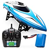 Force1 Velocity RC Boat - H102 RC Boat for Adults and Kids for Pools and Lakes, 20+ mph Speed, 4 Channel...