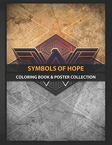 Coloring Book & Poster Collection: Symbols Of Hope Highquality Metal From Amazing Dc Heroes Collect Comics