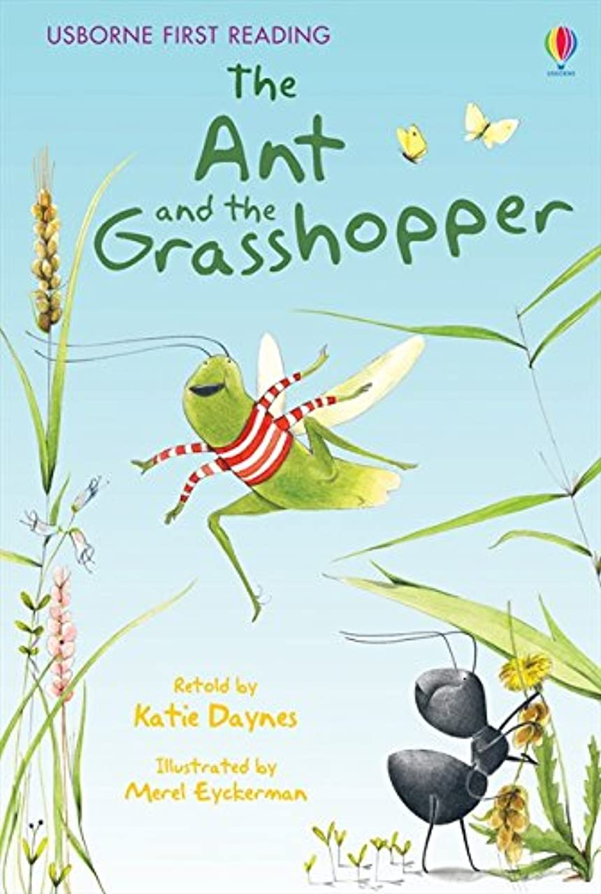 協力的官僚学習The Ant and the Grasshopper (2.1 First Reading Level One (Yellow))