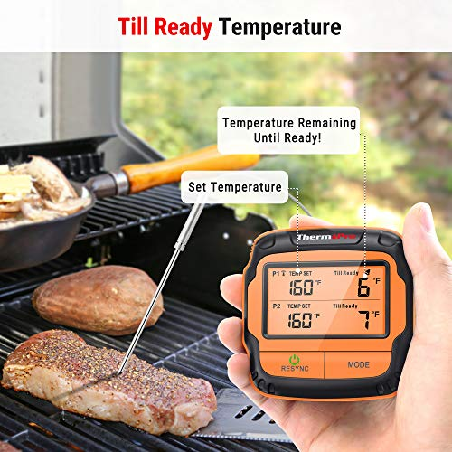 Product Image 7: ThermoPro TP28 500FT Long Range Wireless Meat Thermometer with Dual Probe for Smoker BBQ Grill Thermometer