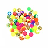 SHATCHI Bouncy Jet Balls 27mm Size Pack of 20 Party Fillers Boys Girls