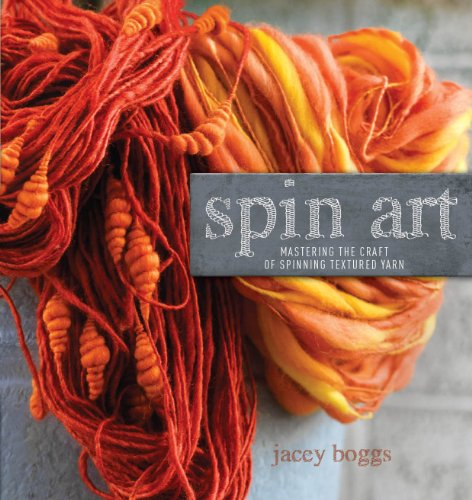 Spin Art: Mastering the Craft of Spinning Textured Yarn (English Edition)