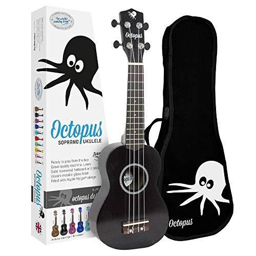 Octopus Uk-200 bk soprano Color negro: Amazon.es: Instrumentos ...