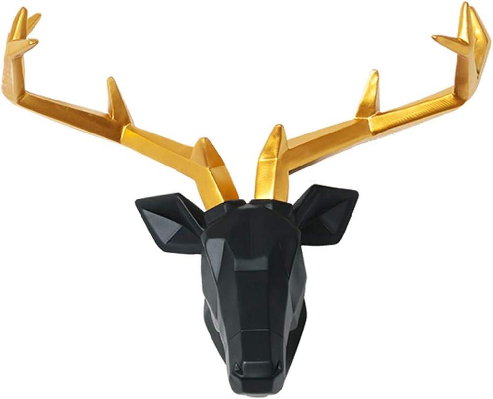 PANGPANGDEDIAN Wall Mount Simulation Selling and selling Head Deer Hangi Max 85% OFF Animal