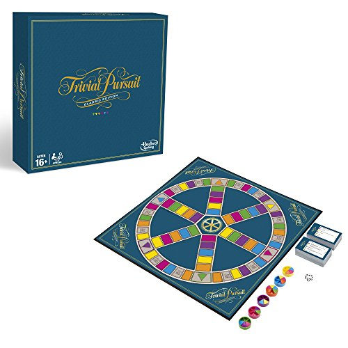 Hasbro Gaming C1940100 - Trivial Pursuit Familienspiel (Deutsche Version)