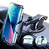 VICSEED [High-Temps Resistant] Car Phone Holder Mount [Doesn't Move & Fall] Phone Holder for Car Hands Free Dashboard Windshield Air Vent Cell Phone Car Mount Compatible with iPhone 13 Mini Pro Max