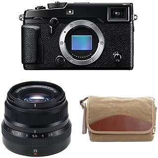Fujifilm X-Pro2 Body Professional Mirrorless Camera (Black) + Fujinon XF35mmF2 R WR + Domke F-5XB Camera Bag