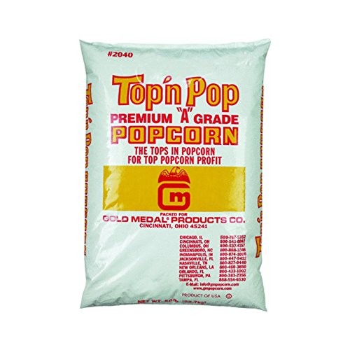 Best Prices! Gold Medal Top N Pop Popcorn 50 lb. Bagged