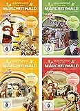 Unser Sandmännchen - Geschichten aus dem Märchenwald - DVD 1+2+3+4 im Set - Deutsche Originalware [4 DVDs]