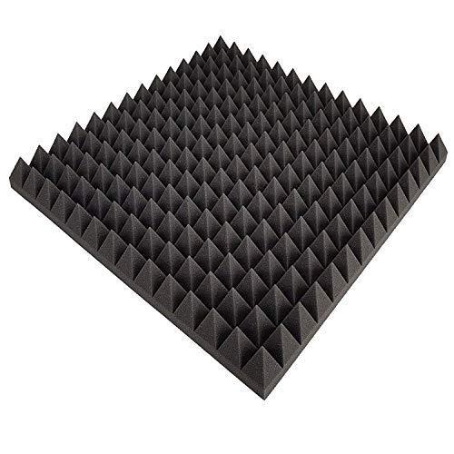 Pyramiden Schaumstoff SELBSTKLEBEND FOLIE Dämmung Schallschutz Flammhemen- MVSS302 akustik Selbstklebend, (ca 50x50x5cm)