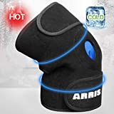 ARRIS Knee Ice Pack Wrap, Reusable Hot Cold Therapy Knee Wrap Ice Knee Brace for...