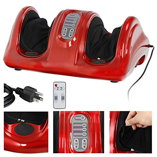 ZENY Shiatsu Foot Massager Machine Kneading and Rolling Leg Calf with Remote...