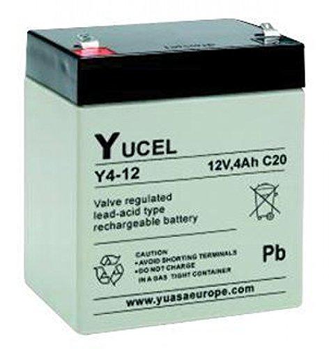 Yucel - BATTERY LEAD 12V 4AH Y4-12 YUCEL - Y4-12