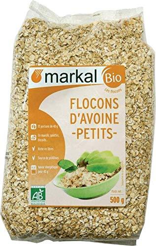 MARKAL Flocons Avoine Pt 500G Bio -