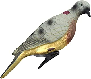 Eagle Decoy/Fake Bird Pigeon Decoy Bionic Animal with Blinking Eyes - Scare Protect Garden Scares Away and Repels Birds, Rabbits, Squirrels and Other Pests/Garden Decoration