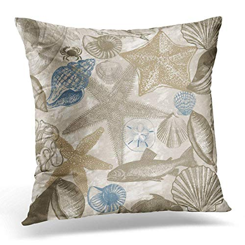 Mengghy Throw Pillow Cover Watercolor Abstract Turquoise Sage Blue Acrylic Decorative Pillow Case Home Decor Square Pillowcase 18x18 Inches