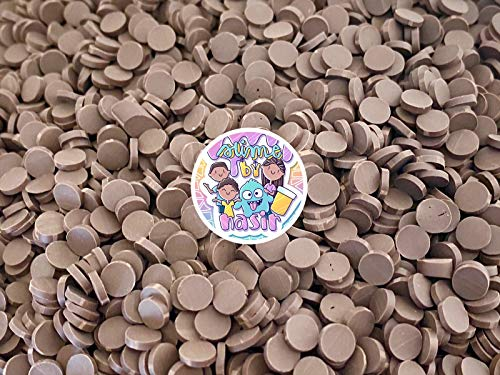 50g Colorful Fake Candy Sweets Sugar Crystals Sprinkles Decoden Resin Cabochons Decorations for Fake Cake Dessert Simulation Food Fake Dessert Polymer Clay (Chocolate Chip Polymer Clay)