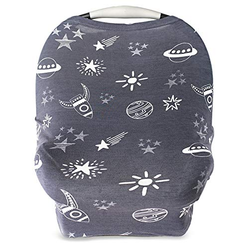 Car Seat Cover for Babies, Nursing Cover, Carseat Canopy - Rockets