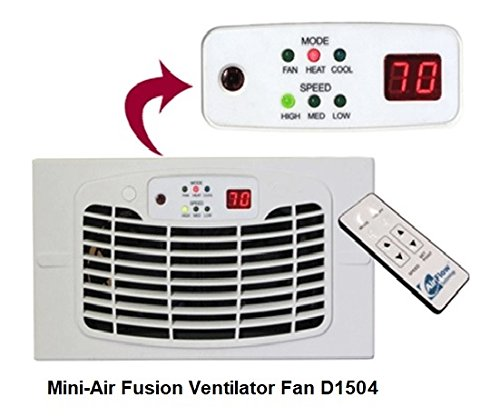 Air Flow Breeze ULTRA with Remote Control (Almond) (2.625'H x 13.875'W...