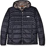 Colmar Uomo Levity Hooded Evo Down Jacket Giacca da Sci, Uomo, Levity Hooded Evo Down Jacket, Blu - Navy...