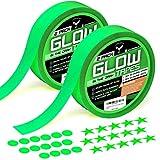 Best Glow In The Dark Dots - Glow in The Dark Tape - Premium Pack Review