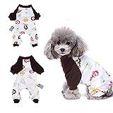 HongYH 'Schlafanzug, für Hunde, Welpen, pyjamsa Hunde-Overall, 100% Baumwolle, für kleine Hunde und Katzen