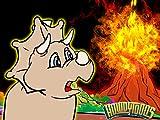 Smoke Fire Lava Volcano - Dinosaur Songs from Dinostory the Dinosaur Rock Opera