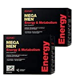 GNC Mega Men Energy & Metabolism Vitapak Program - Twin Pack