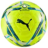 PUMA LaLiga 1 Adrenalina Mini Ball Balón de Fútbol, Unisex-Adult, Lemon Tonic-Multi Colour