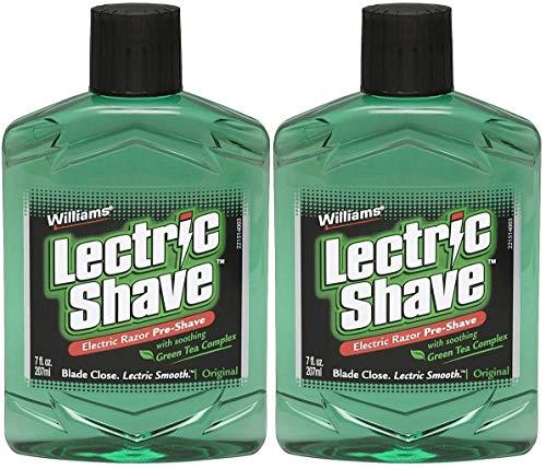 Williams Lectric Shave Electric Razor Pre-Shave