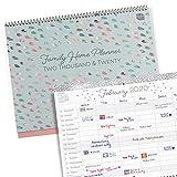 Boxclever Press 'Family Home' Calendario 2020 (IN INGLESE). Calendario famiglia 2020 con u...