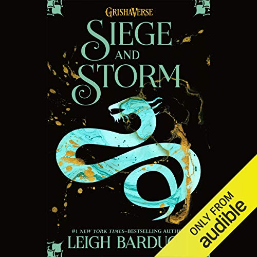 Siege and Storm audiobook cover art
