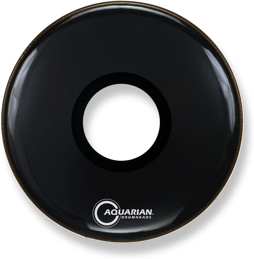 Aquarian Drumheads depot PTCC28BK Over item handling ☆ Center Bass 28-inch Ported Drum