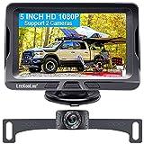 LeeKooLuu G1 HD 1080P Backup Camera for Car with 5