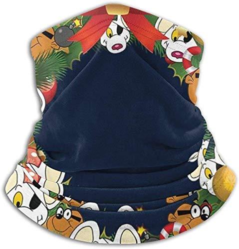 asdew987 Bandanas de Navidad Multiface Corona Peligro Mouse Mascarilla...