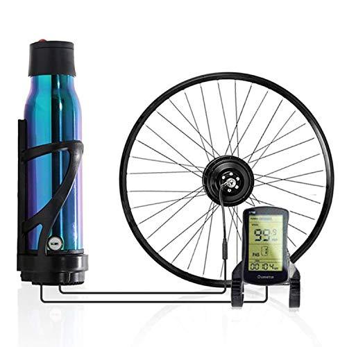 OUYA Kit de conversión de Bicicleta eléctrica con batería, Kit de conversión de Bicicleta de 350 W con Asistencia eléctrica y Modo eléctrico Puro, para MTB y Bicicleta de Carretera,A,29''