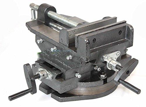 "Hd 6"" Cross Vise Two Way Slide 360° Swivel Vise Drill Press Milling Machine"