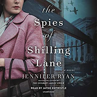 The Spies of Shilling Lane audiobook cover art