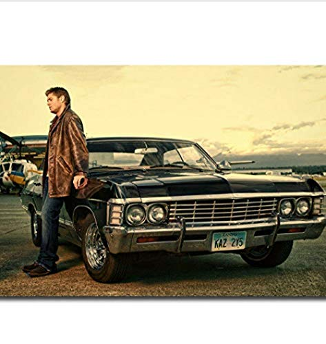 MKAN Posters And Prints Supernatural Season Tv Series Canvas Art Posters Canvas Painting Home Decor 40X60Cm No Frame