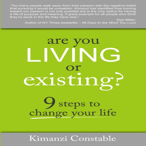 Are You Living or Existing? audiobook cover art
