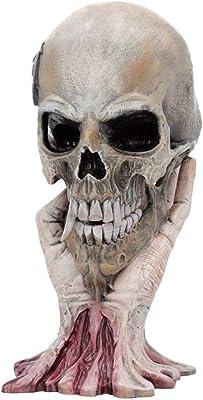"Ebros Day Of The Dead Vegetable Napa Cabbage Skull Statue 6/""L Cranium Figurine"
